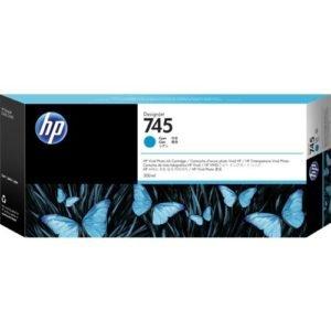 HP 745 Cyan 300 ml