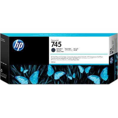 HP 745 Noir Mat 300 ml