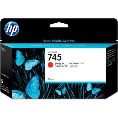 HP 745 Rouge 130 ml