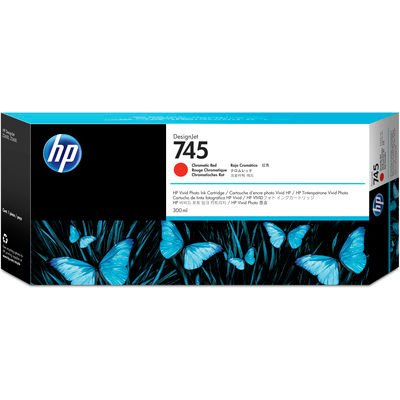 HP 745 Rouge 300 ml