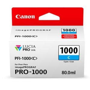 PFI-1000C CYAN 80 ML