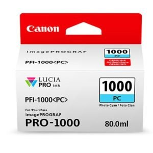 PFI-1000PC CYAN PHOTO 80 ML