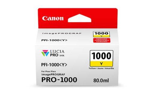 PFI-1000Y JAUNE 80 ML
