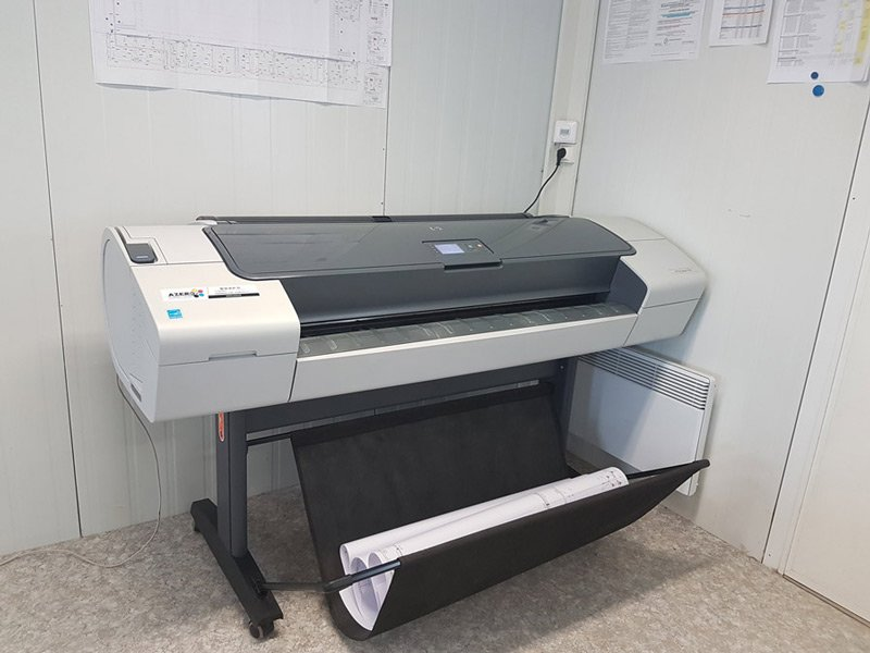 Installation traceur HP Designjet T 770