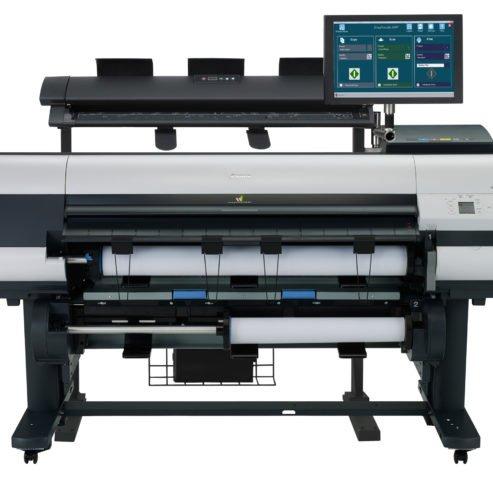 Scanner M40 avec iPF 840